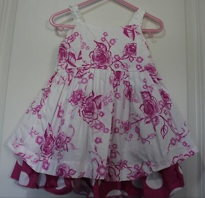 The Childrens Place Toddler Baby Dress Size 18M Pink White