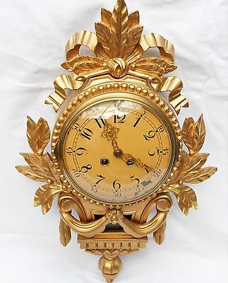 Swedish Westerstrand Cartell 8-Day Wall clock (Union Clock Co.)