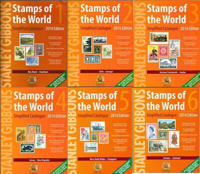 Stanley Gibbons Stamps of the World Catalogue 1-6 2014 in PDF