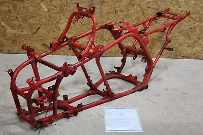 YAMAHA Banshee j-arm frame chassis 1987 1988 1989 clean paperwork RED #0911