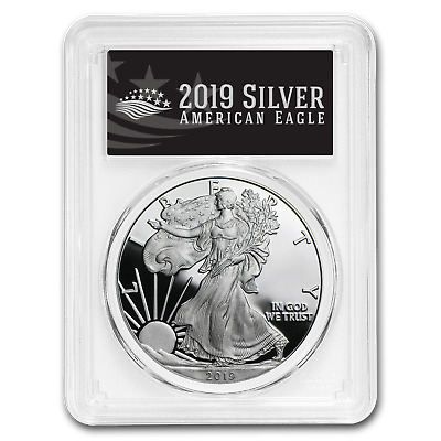 2019-W Silver American Eagle PR-70 PCGS (FS, Black Label) - SKU#177827