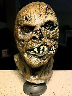 RARE SSN New Blood Jason Voorhees Friday The 13th Part 7 MOVIE MOLD Mask Bust