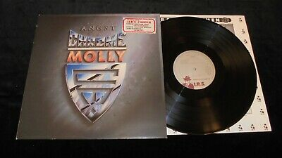 Chrome Molly ‎– Angst IRS Holland 1988 LP vinyl hard rock GLAM metal