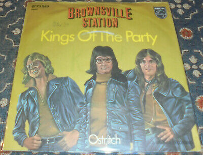 """Brownsville Station : Kings of the Party,7"""",im Bildcover"""