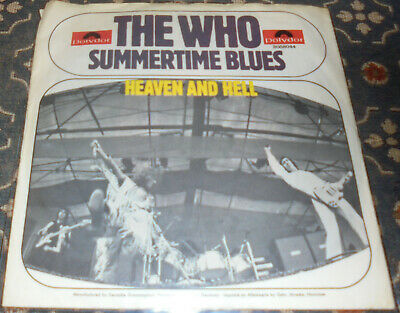 """The Who : Summertime Blues,7"""",im Bildcover"""