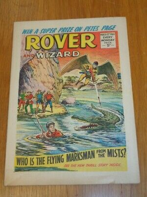 Rover And Wizard 12Th March 1966 Dc Thomson British Weekly Comic*