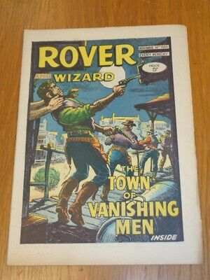 Rover And Wizard 14Th November 1964 Dc Thomson British Weekly Comic*