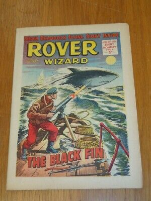 Rover And Wizard 16Th April 1966 Dc Thomson British Weekly Comic*