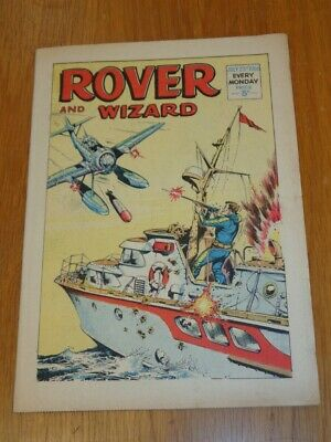 Rover And Wizard 23Rd July 1966 Dc Thomson British Weekly Comic*