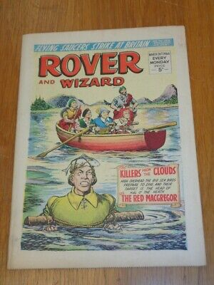 Rover And Wizard 26Th March 1966 Dc Thomson British Weekly Comic*