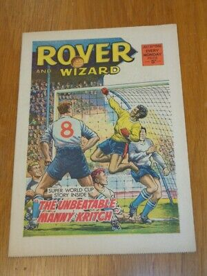 Rover And Wizard 30Th July 1966 Dc Thomson British Weekly Comic*