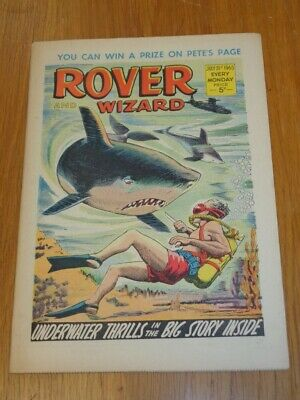 Rover And Wizard 31St July 1965 Dc Thomson British Weekly Comic*