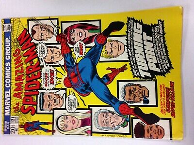 The Amazing Spider-Man #121 June 1973 Death of Gwen Stacy by Green Goblin