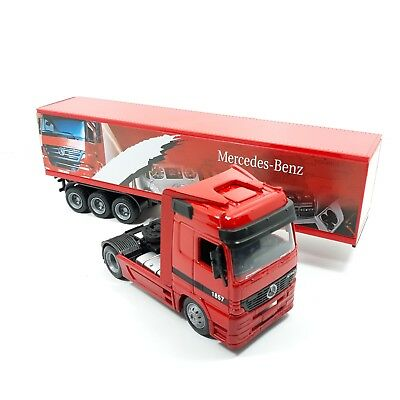 Camion New Ray in Scala 1:43 Mercedes Benz 1//43 Rosso 35cm in Scatola