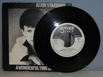 "♪ 7"" Alvin Stardust ‎– A Wonderful Time Up There"