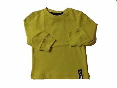 NWT Boy's Gymboree Shields and Sails green long sleeve shirt ~ 6-12 months