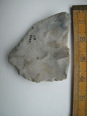 Palaeolithic hand-held skin scraping tool- probably from Kent