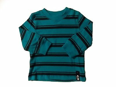 NWT Boy's Gymboree Shields and Sails blue long sleeve shirt ~ 12-18 months