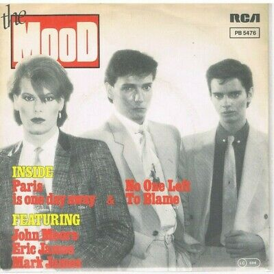 "7"" - MOOD - PARIS IS ONE DAY AWAY - german PS"