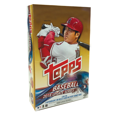 2018 Topps Update Factory Sealed Hobby Box + 1 Silver Pack