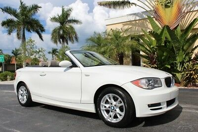 2009 BMW 1-Series i Convertible One Owner Florida Car 64k Miles 2009 BMW 128I CONVERTIBLE AUTO 64K MILES PREMIUM ONE OWNER JUST SERVICED