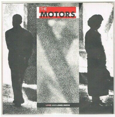 "7"" - Motors - Love And Loneliness  - Uk Ps"
