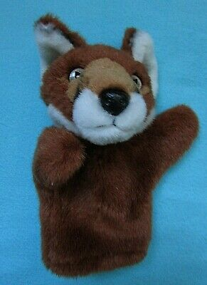 Fab Fox Plush Soft Toy Hand Puppet