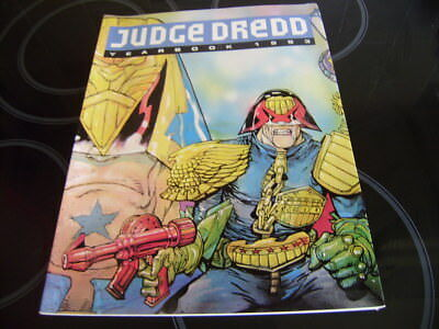 2000Ad Judge Dredd Yearbook 1993