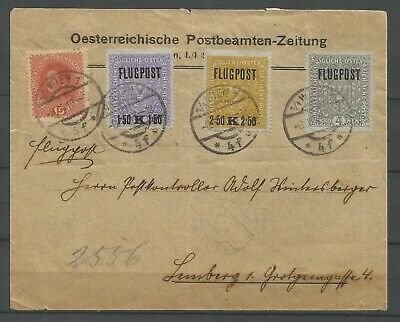 Poland,FLUGPOST,1918,Field post,Air Mail from Wien