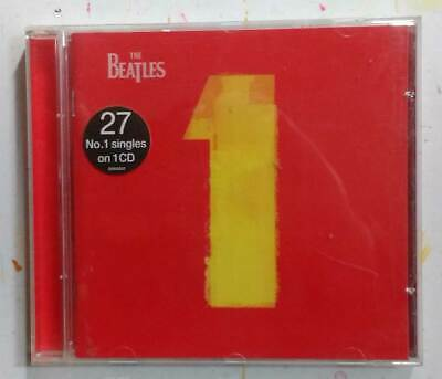 THE BEATLES - 1 - 27 Number One hits on one CD (2000)
