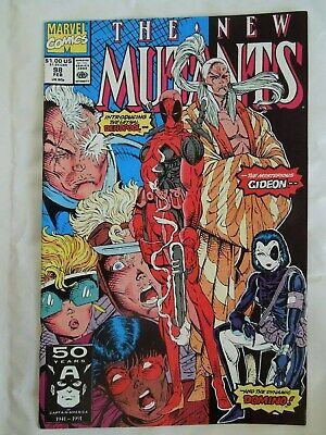 New Mutants #98 (Vol One 1991) - 1st appearances Deadpool and Domino