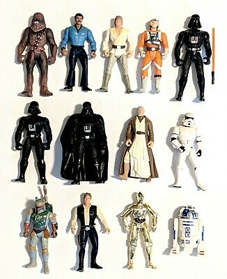 CHOOSE: 1995 Star Wars Power of the Force II * Action Figures * Kenner