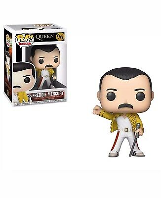 Funko 33732 POP Vinyl: Rocks: Queen: Freddie Mercury (Wembley 1986), PRE ORDER
