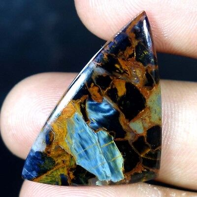 23.70Cts. Amazing Flashy Pietersite 100% Natural Fancy Cabochon Loose Gemstones