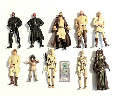 CHOOSE 1: 1999 Star Wars Episode I Phantom Menace * Action Figures * Hasbro