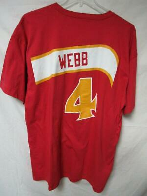 Atlanta Hawks Spud Webb  4 Men s Size 2X-Large Mitchell   Ness Tee Shirt 31138948d