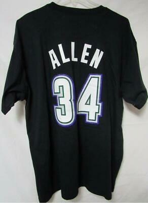best website 66c6a 48673 MILWAUKEE BUCKS RAY Allen #34 Men's Size 2XL Mitchell & Ness Tee Shirt A1  115