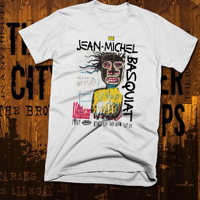 New York Graffiti T-Shirt Abstract Basquiat Afro Picasso Brooklyn Art