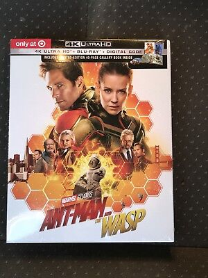 Ant-Man and the Wasp 4K UHD + Blu-Ray + Digital HD Target Exclusive Ships Today