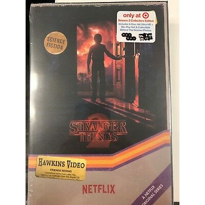 Stranger Things Season 2 Target 4K UHD + Blu-Ray Region Free Set Sealed IN HAND