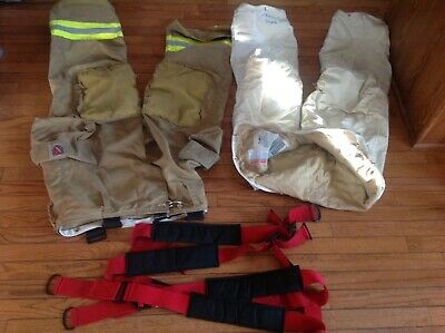 Firefighter turnout gear Fire Dex  bunker pants size 36 regular