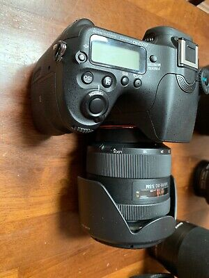 Sony Alpha A77II Digital SLR Camera With 16-50mm f/2.8 Lens Plus 2 other lens's