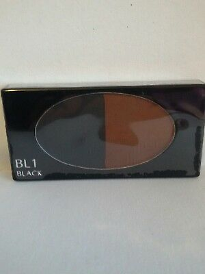 Shiseido Eyebrow and Eyeliner compact Bl1 Black