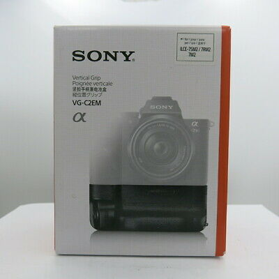 Sony Genuine VG-C2EM Vertical Battery Grip for Alpha a7II, a7Rll and a7Sll NEW
