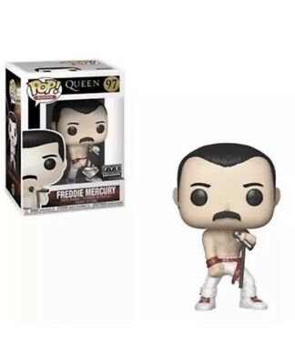 Funko Pop Rocks Queen: Freddie Mercury #97. Fye Glitter Exclusive. Preorder W/pp