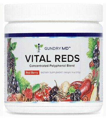 Gundry MD Vital Reds Concentrated Polyphenol Blend - 4oz (NEW)