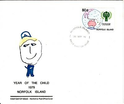 1979 - Norfolk Island - Year of the Child  - FDC