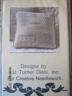 Design Pattern For Creative Needlwork Cushion  By Liz Turner Diehl Canvaswork