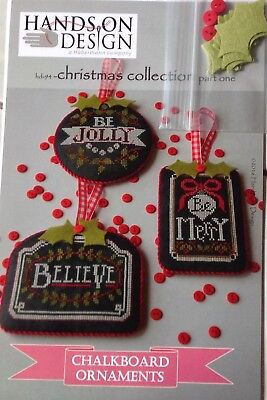 Chalkboard Ornaments Chart by Hands on Design