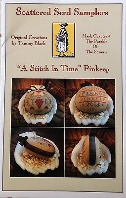 A Stitch in Time Pinkeep Chart by Scattered Seeds